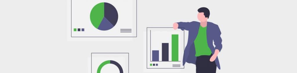 dashboard showing graphs
